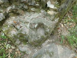 Torangelstein von der Burg Schnellerts