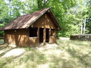 Wanderschutzhütte auf dem Schnellerts