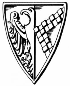 Das Wappen von Otto von Crumbach nach seinem Siegel 1256