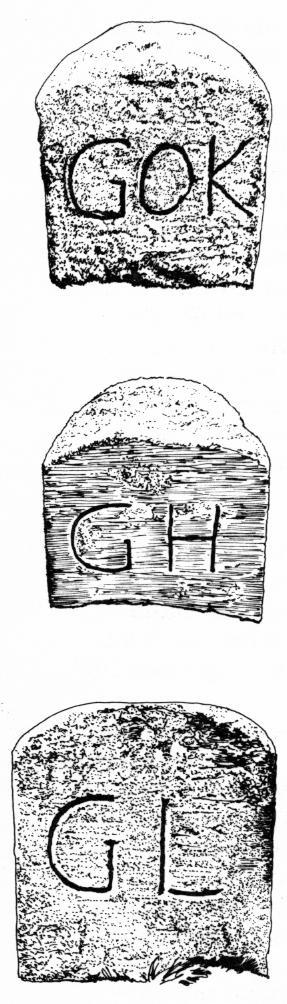 Grenzstein Zeichnungen: W. Krüger