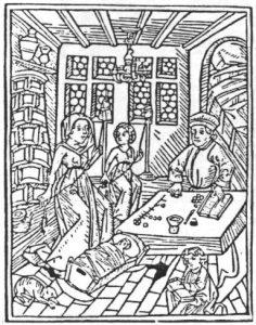 Mittelalterliche Stube