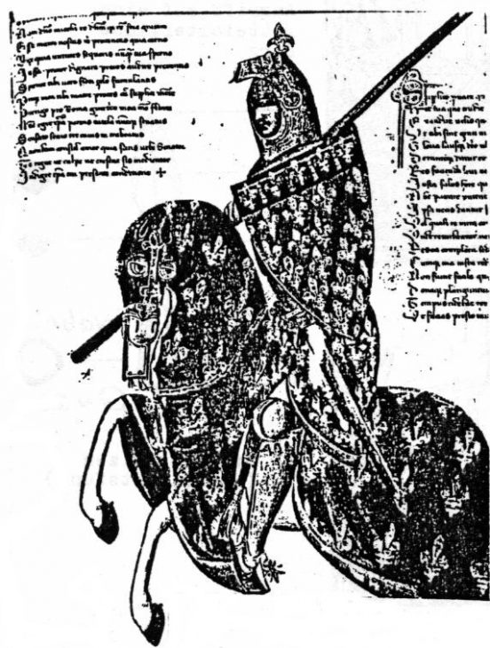 Ritter zu Pferde