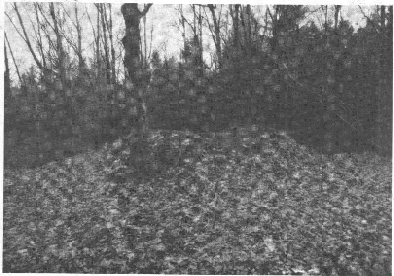 Turmstumpf, Zustand 1970